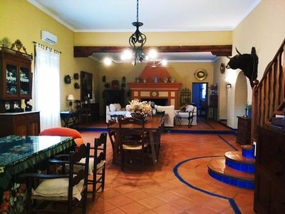 Photo for Rural house (full rental) Finca Vergel de Santa María for 12 people