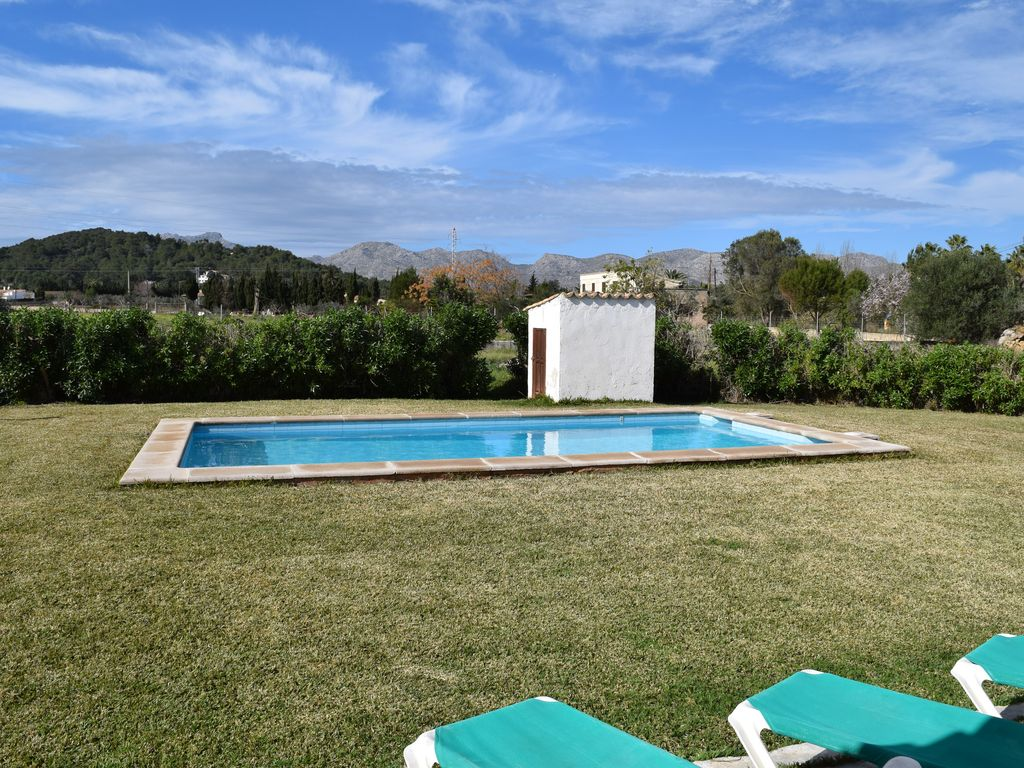 Rental With Wifi Private Pool In A Quiet Residential Area Near Pollenca Puerto Pollensa