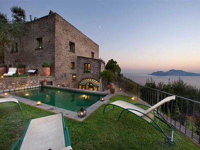 Photo for CHARMING VILLA in Massa Lubrense with Pool & Wifi. **Up to $-1433 USD off - limited time** We respond 24/7