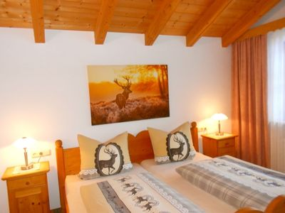 """Photo for Apartment """"Alpenblick"""" (53sqm) 2 balconies, 1 bedroom and living room, kitchenette, WiFi, max. 2 persons"""