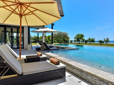 Photo for Luxury PRIVATE Beachfront Villa