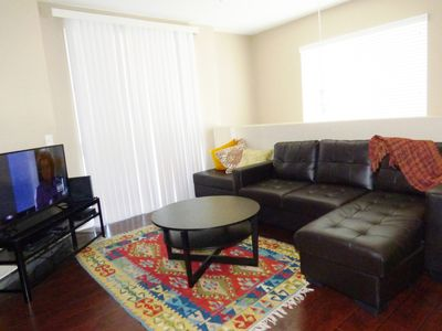 One bedroom condo with attached garage