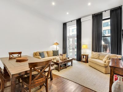 Photo for Huge True 3/2 Columbus Circle/Times Sq./Central Park. Entire Floor. Back patio