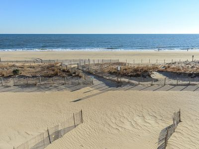 Photo for Newly-Renovated Direct Oceanfront - Grill, Linens & Beach Gear Included!