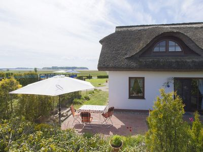 Photo for House - Thatched cottage with terrace