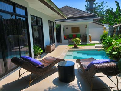 Photo for Beautiful 3 bedroom villa in Maenam