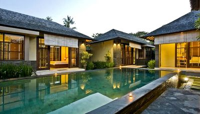 Photo for VILLA LITERA IS A PERFECT HIDEOUT WITH A MODERN BALINESE FEEL IN SEMINYAK, BALI