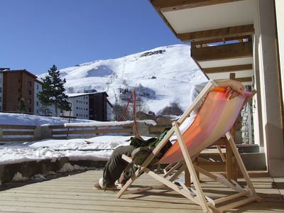 Photo for 1BR Chalet Vacation Rental in Les deux alpes