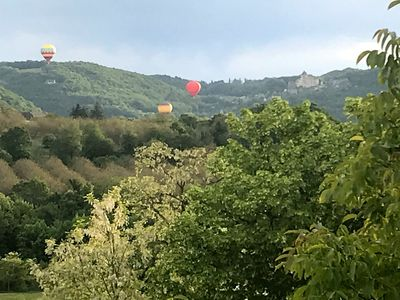 Photo for In a plus beaux villages de France enjoy your relaxing views o the valley below.