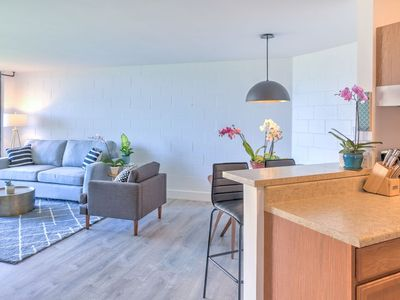 Photo for Newly Renovated Modern Maui Beachfront Vacation Rental In Kihei