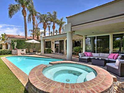 Photo for NEW! Lavish Indian Wells Golf Home- Pool & Hot Tub