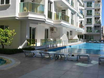 Photo for New apt 1+1 in Antalya with shared pool