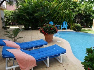 """Photo for """"Pride of Courland"""" Beachfront Apartments With Pool By Carribbean Sea - Ap.  Hummingbird"""