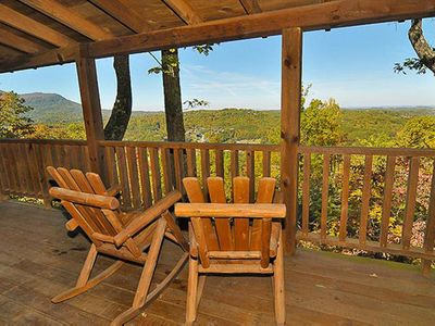 Photo for Fun Pet-Friendly Cabin Perfect for Romantic Cozy Getaway