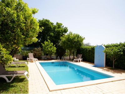 Photo for Family Villa. Private Sunny Pool & Sea Views. Only 20 mins walk to town centre