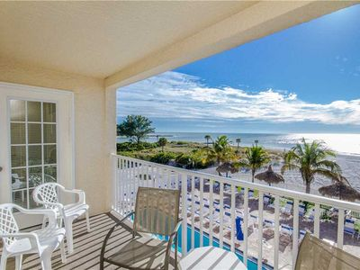Photo for Renovated Beach Front Unit Right On Madeira Beach Unobstructed Gulf Views - Free Wifi - Beach Place