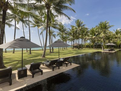 Photo for Villa Shanti - spacious beachfront paradise