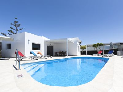 Photo for 3 bedroom Luxury Private Villa with Private Heated Pool near the beach