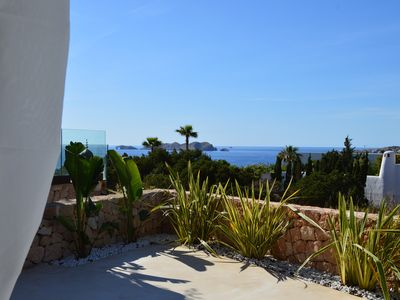 Photo for IBIZA STYLE HOUSE WITH AWESOME SEA VIEWS.