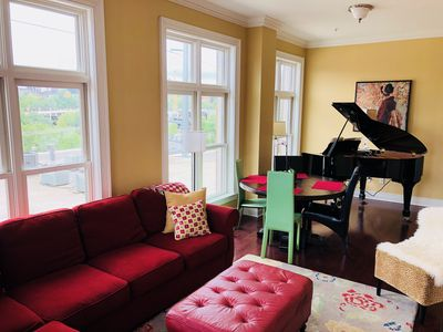 Photo for The Musicians Loft on Dickson Street | One block from UofA Campus!