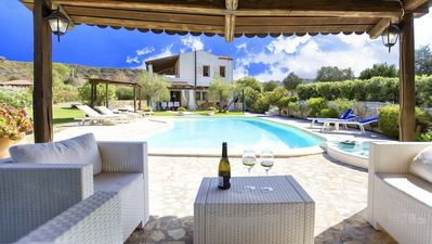 Photo for Alghero Villa Gioiosa with pool and SPA Hydromassage Ideal for 10 people