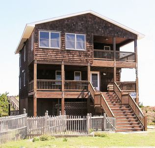 Photo for 8313 Old Oregon Inlet Rd, OceanFRONT Private Pool/Foosball/Pet Area
