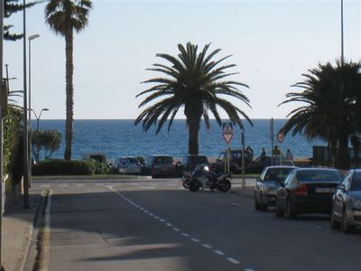 Photo for Charming three-bedroom apartment  located 100 meters from the beach