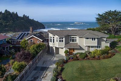 Sunset Vista has breathtaking ocean views of Trinidad Beach. - Sunset Vista has breathtaking ocean views of Trinidad Beach.
