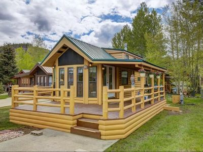 Photo for Homey Hideaway Chalet in family friendly Tiger Run, mins from Breckenridge