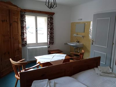 Photo for Double room with fl. Water - Alpenblick, guesthouse