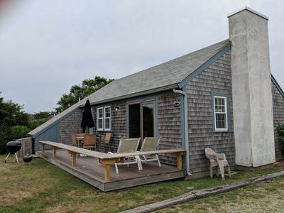 Photo for Madaket, Nantucket: 3BR House, early August, Walk To Beach!