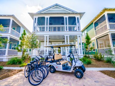 Photo for Fall Specials!* 3 King Beds! 4 Bikes Included! La Dolce Vita at NatureWalk on 30A