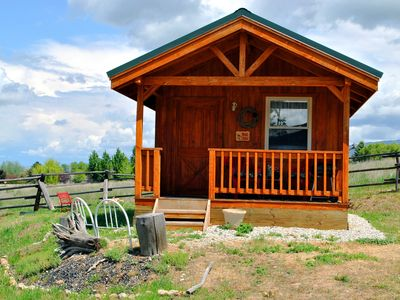 Photo for 'Wolf Den'-A Perfect Romantic Honeymoon cabin and a Sportsman's Paradise Cabin