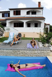 Photo for Holiday house with balcony, covered terrace and private pool