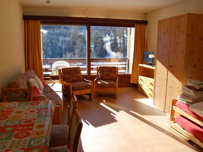 Photo for One bedroom Apartment, sleeps 3 in Tortin with WiFi