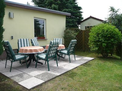 Photo for Holiday apartment with terrace in the garden