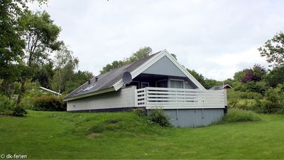 Photo for Cozy cottage with sauna and washing machine in the idyllic southeast Jutland