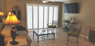 Photo for WATERFRONT 1 BEDROOM 1.5 BATH CONDO W/ BEACH ACCESS ACROSS THE STREET