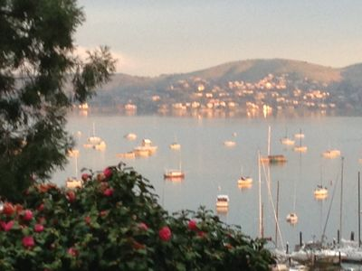 Photo for Gorgeous Sausalito Perch overlooking Richardson Bay