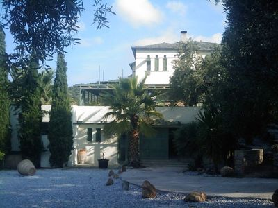 Photo for Large villa with pool, beautiful sea views, approx. 5 mins to the beach.