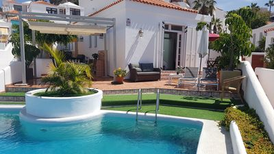 Photo for Villa with private pool in a very quiet area, with views in Costa Adeje