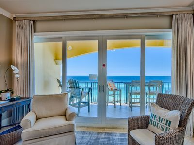 Photo for Adagio A403 gulf front condo, 4 bedrooms with bonus bunk room, newly updated!