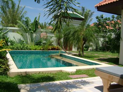 Photo for Deluxe villa (2 rooms / 75 m²) with private swimming pool in Jomtien - Pattaya