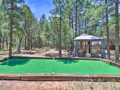 Photo for NEW-Show Low Home w/ Hot Tub, Putting Green+Gazebo