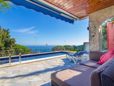 Photo for Club Villamar - Spectacular holiday villa accommodating 5 people, with private pool and wonderful sea views, suitable for the whole family!