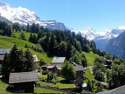 Photo for Apartment Silberhorn in Wengen - 4 persons, 2 bedrooms