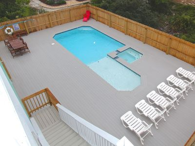 Photo for Gulf View!  Private Pool!  Hot tub!