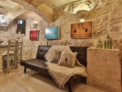 Photo for Charming home with a sunny roof terrace in Rabat