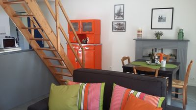 Photo for 4 people Nice apartment in the heart of BINIC to the beaches