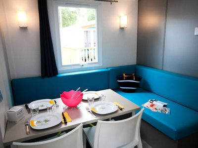 Photo for Camping Le Boudigau **** - Loggia 3 room mobile home 4/6 people